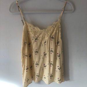 Abercrombie lace detail cami